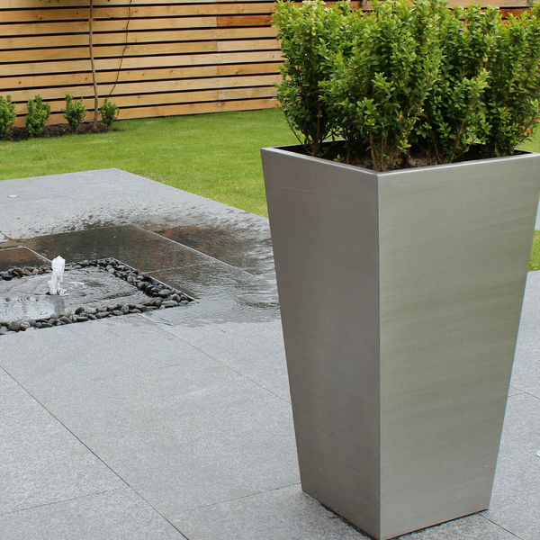 Stainless Steel Plant Box Pot