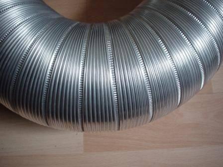 Semi-Rigid Aluminum Duct