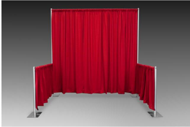 Special offer pipe and drape kits white pipe and drape