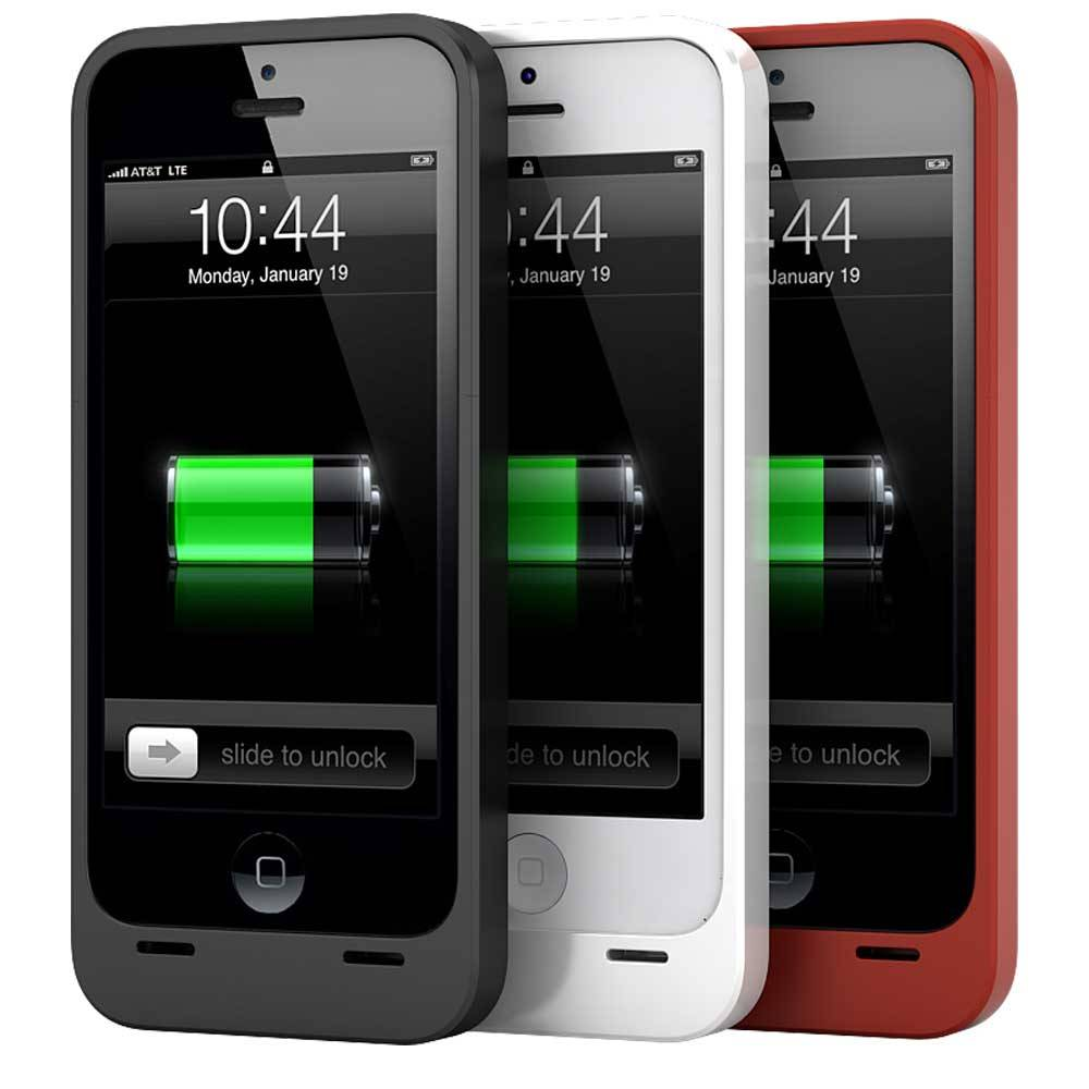 Real capacity 2300mAh external protective backup battery charger case for iPhone 5/5S