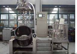 Cream emulsification machine