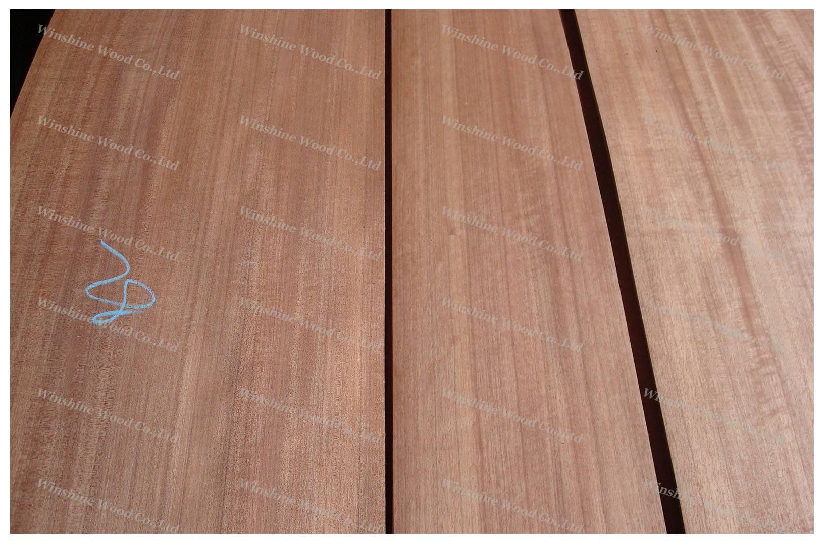 Macore wood veneer