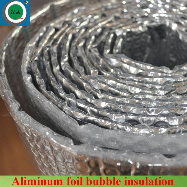 multi-layer roof reflective bubble insulation wih aluminum foil