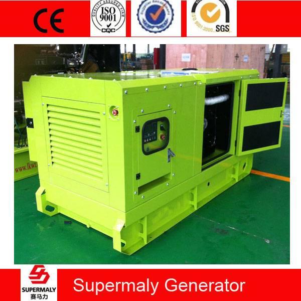 Silent 40KVA 30KW Perkins engine Diesel Generator by 1103A-33TG1