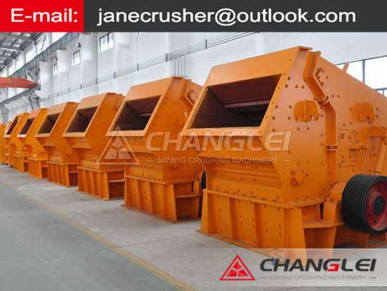 Complete set Silica Sand crusher  in Indonesia