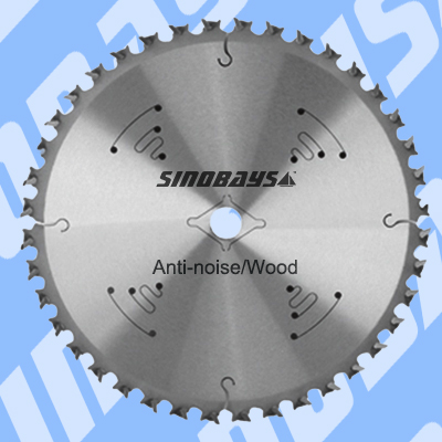 Professional Anti-noise carbide Circular Saw Blade for wood