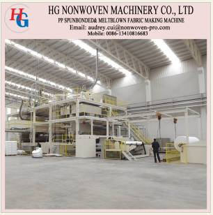 Mechanical equipment spunbond non-woven production line