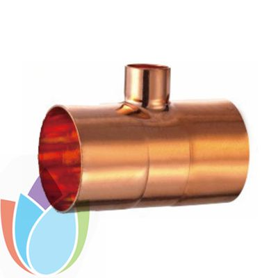Air Conditioner Copper Fitting Reducer Tee