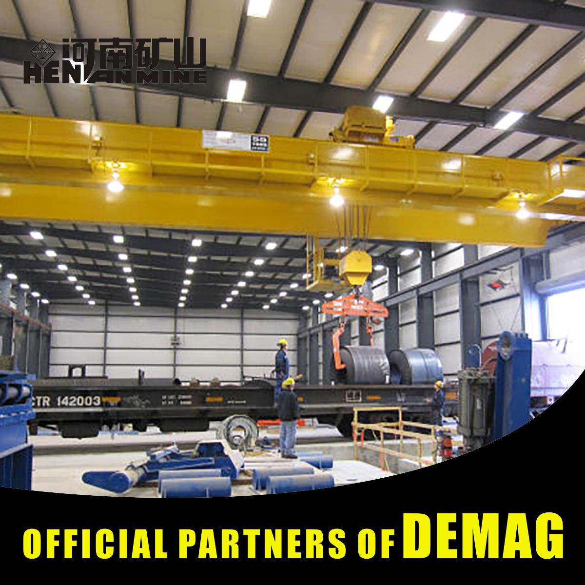 Manufacturer Direct High Efficiency Heavy Machinery Workshop Tools Bridge Crane