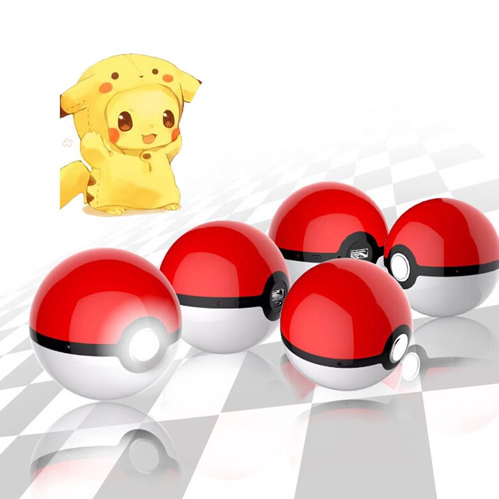 Factory wholesale pokemon pokeball power bank pokemon ball power bank