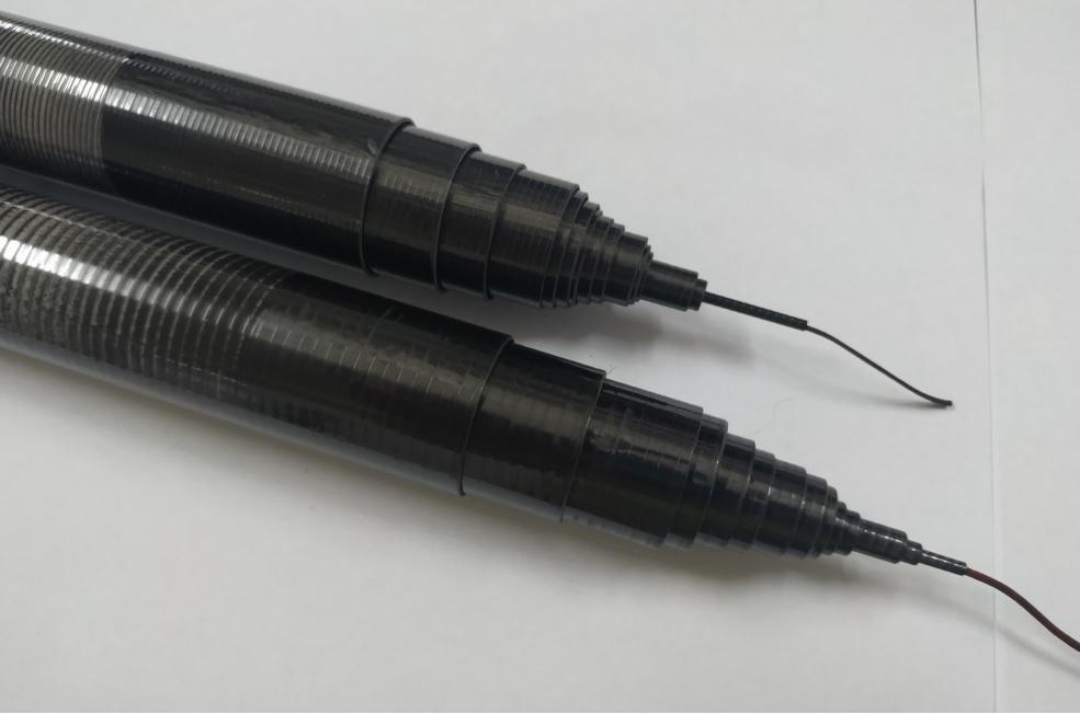 5.6 meter(18.24feet) carbon fiber telescopic mast pole light weight portable antenna mast