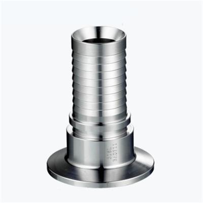 Stainless Steel Sanitary Clamped High Pressure Hose Nipple