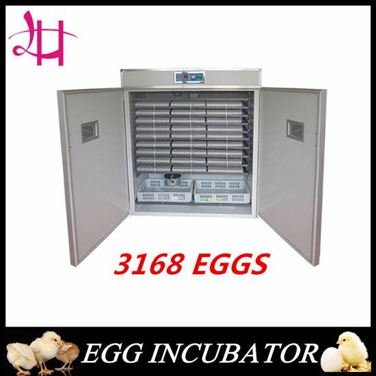 Poultry equipment chicken egg incubator 3168eggs incubator