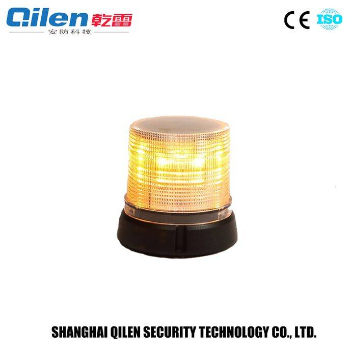 24W rotating warning yellow led beacon flashlight LE-240