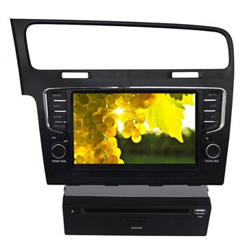 Specially for VolksWagen GOLF7 Car radio dvd player with GPS Bluetooth Ipod