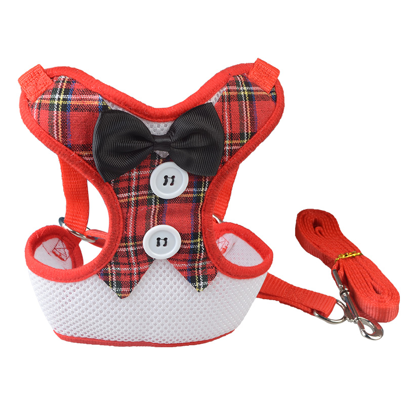 Fashion pet products dog harness and nylon leash