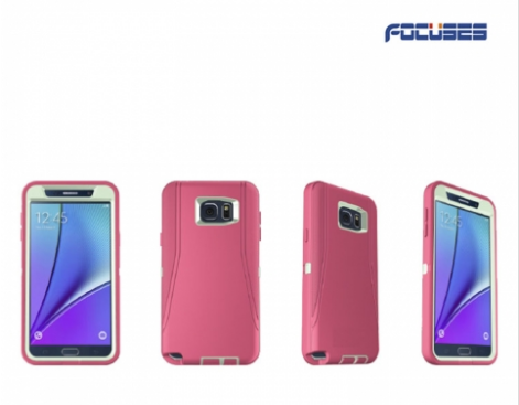 Focuses Defender Series Case(3-layer protective case) for Galaxy NOTE 5