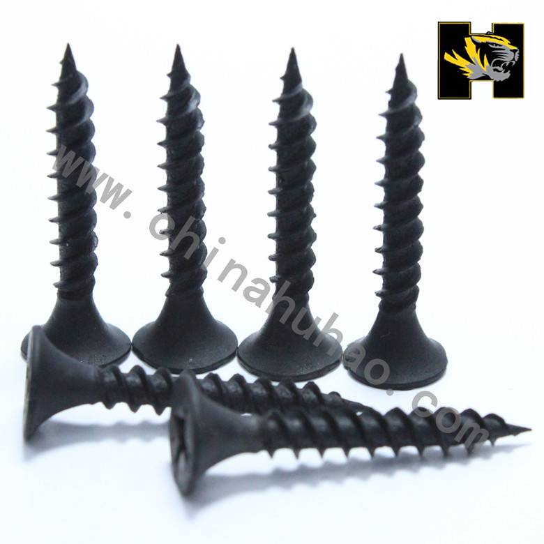 Phosphating hardened drywall screws from China maufacture