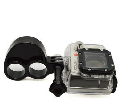 Basecent Sport Camera Plastic Double-Finger Grip -BC218