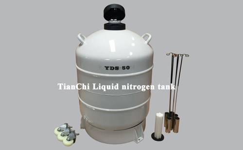 Liquid nitrogen container 50BL80mm