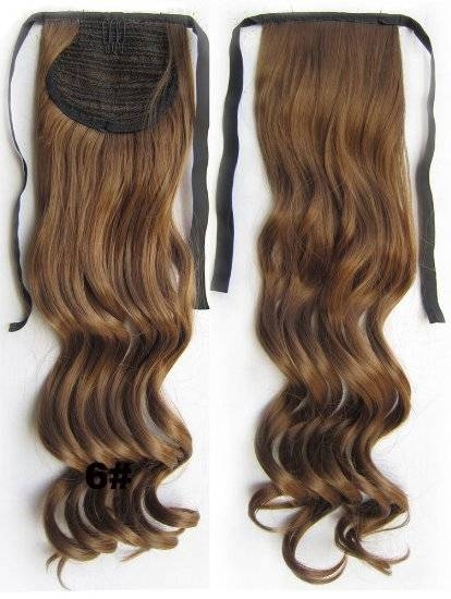 High Quality Synthetic Ponytail Hair Extension