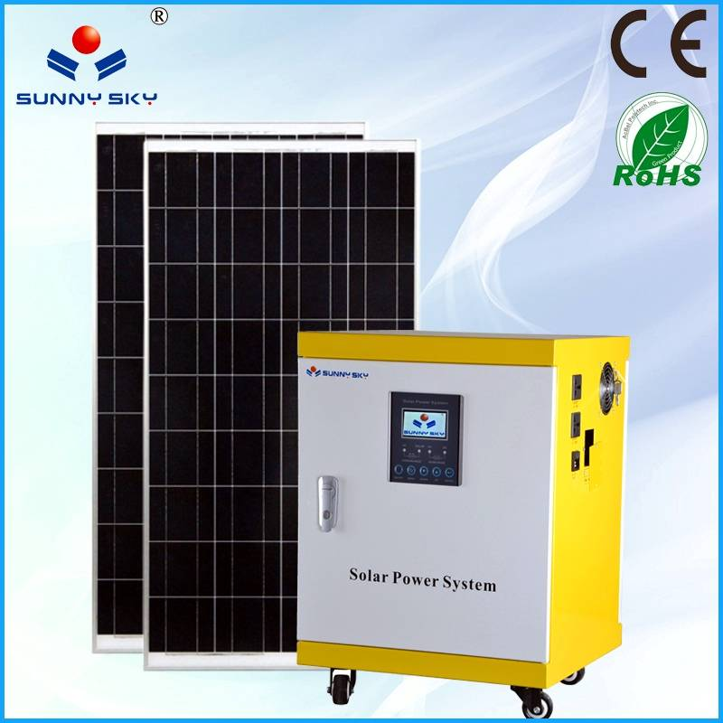 400W solar power system with mppt solar controller inverter