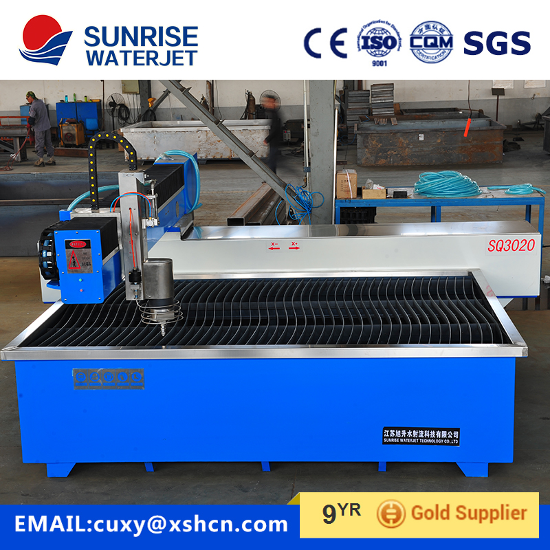 Good quality waterjet cutter for metal sheet in China