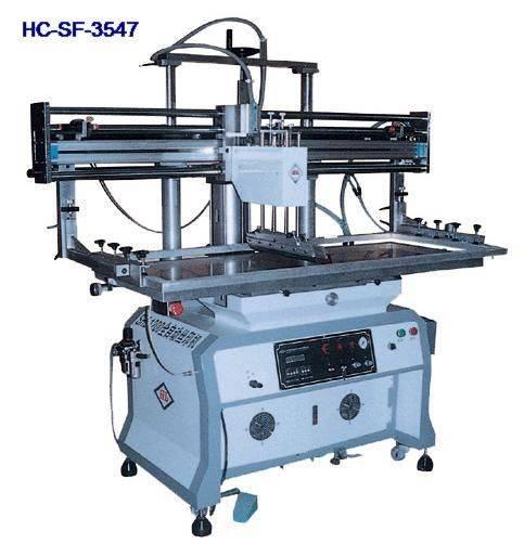 Automatic flat screen printer