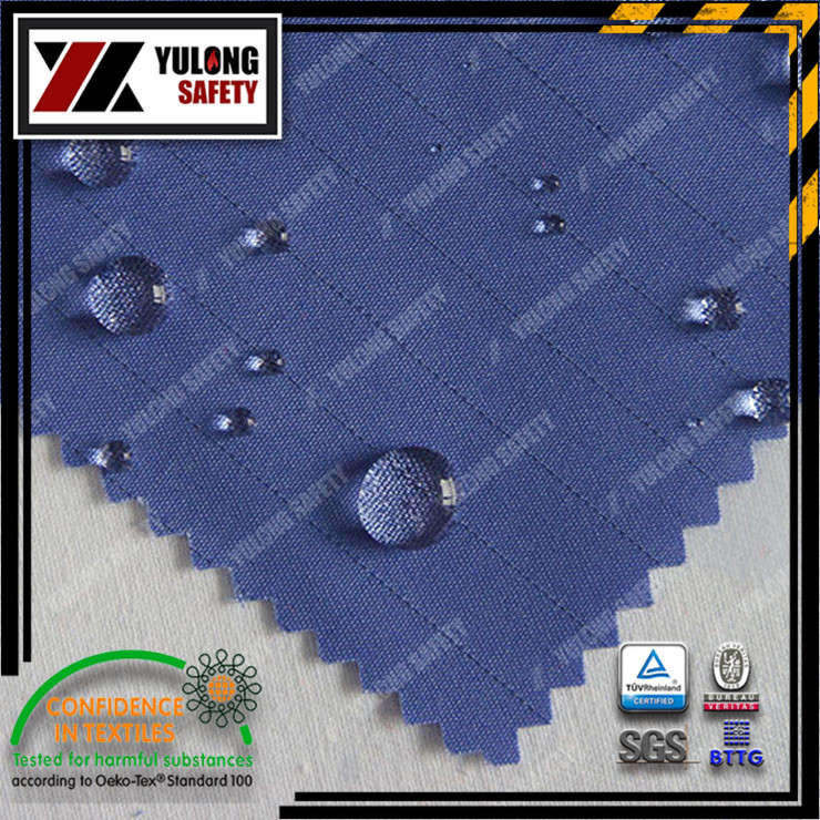 Xinxiang Yulong Textile co.,Ltd three proof fabric anti acid&alkali anti oil anti water workwear