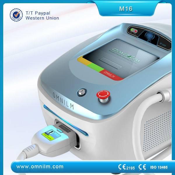 portable IPL SHR machine for permanent hair removal and skin rejuvenation