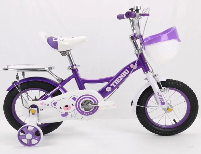 Kids Bike for Girls&Boys with Training Wheels TN-1912