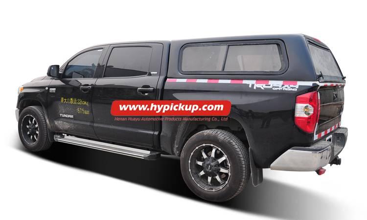 fiberglass Toyota Tundra canopy
