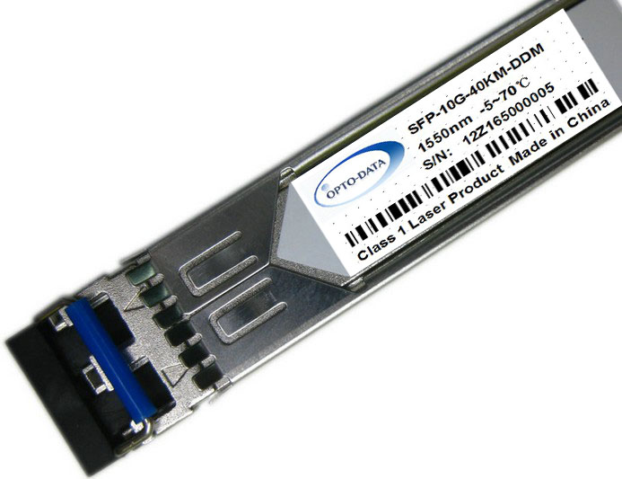 WDM SFP+ Transceiver SR/LR/ER/ZR optic module with DDMI -40~80 centigrade