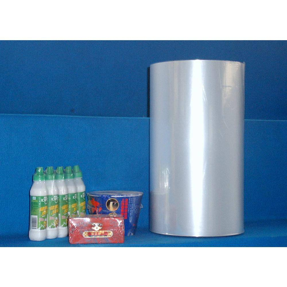 center folded and single wound pof shrink film