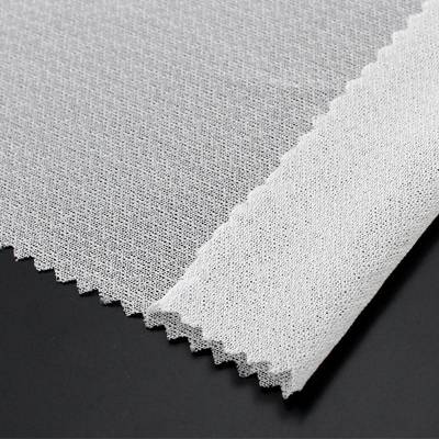 circular knit woven fusible interlining,4-way spandex woven interlining