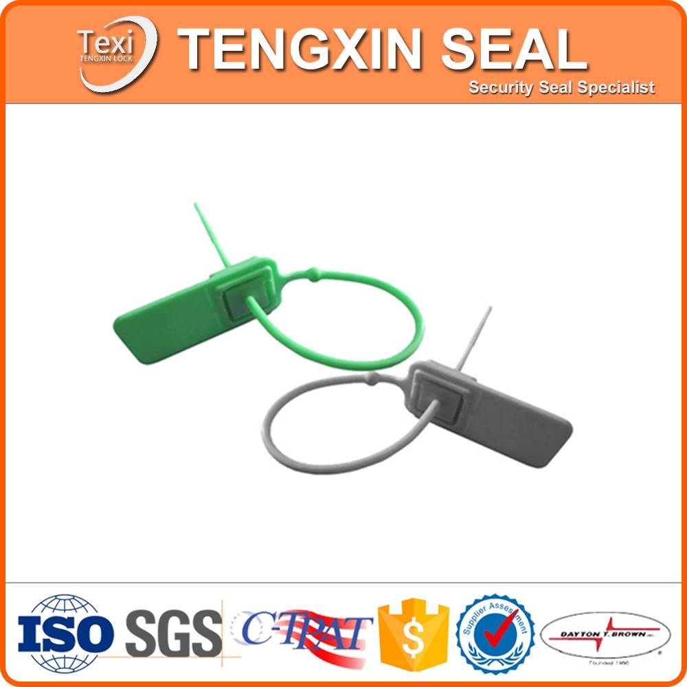hot sale mechanical plastic seal for logistic bags