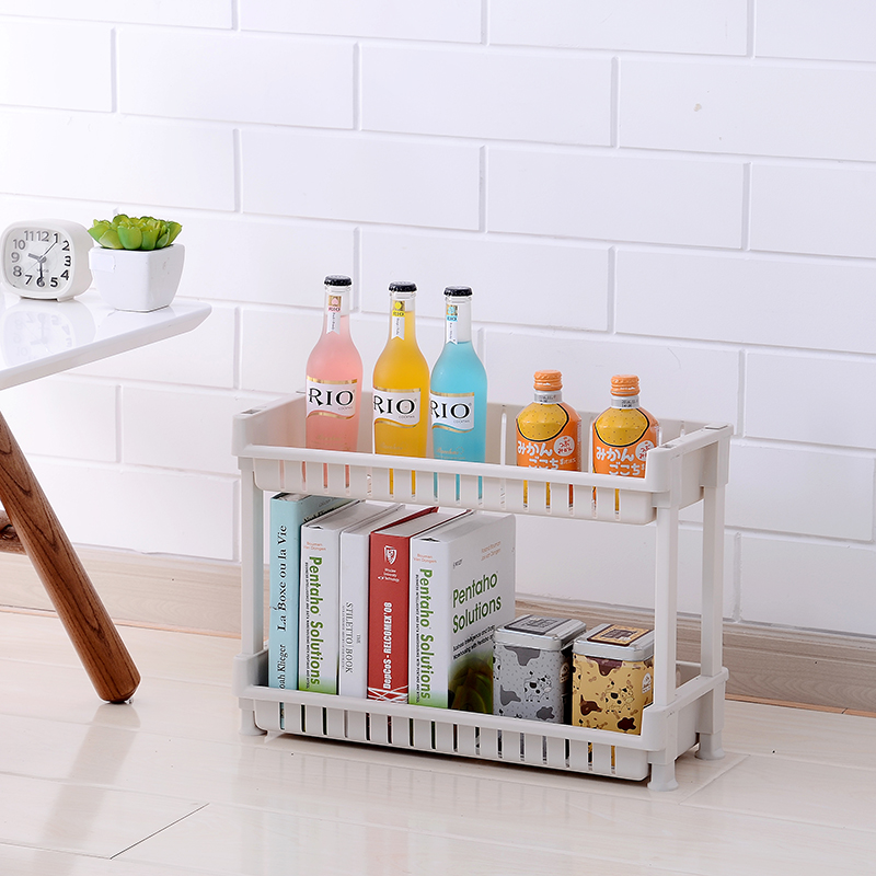 Multipurpose Shelf with Removable Wheels /bathroom storage shelf crack rack