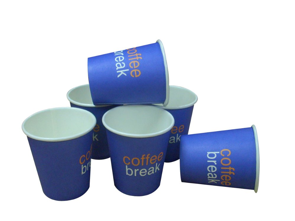 6.5oz single wall paper cup for promotion activity
