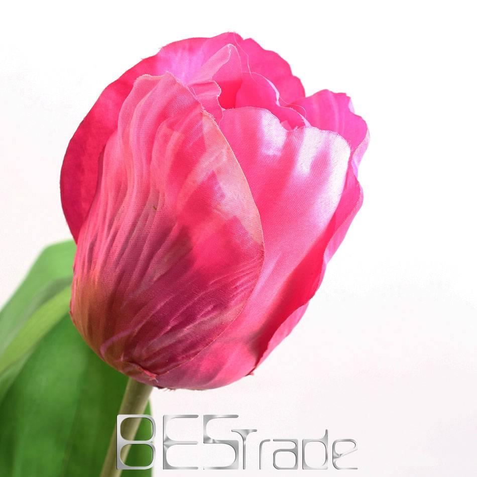 Wholesale scented artificial flower silk Tulip