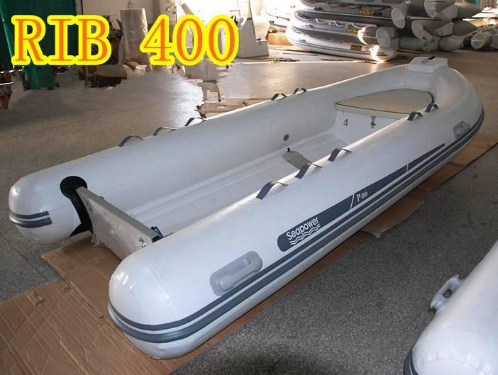 4m rigid inflatable boat RIB400 yacht tender