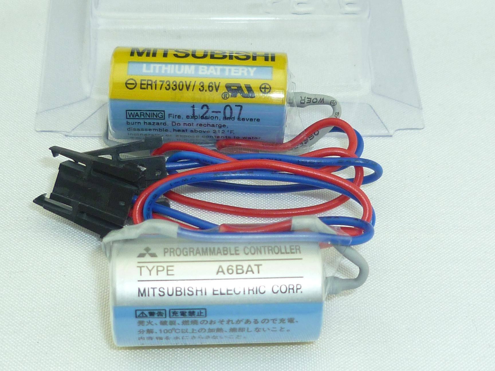 Lithium Battery ER17330V/3.6V A6BAT(Mitsubishi)