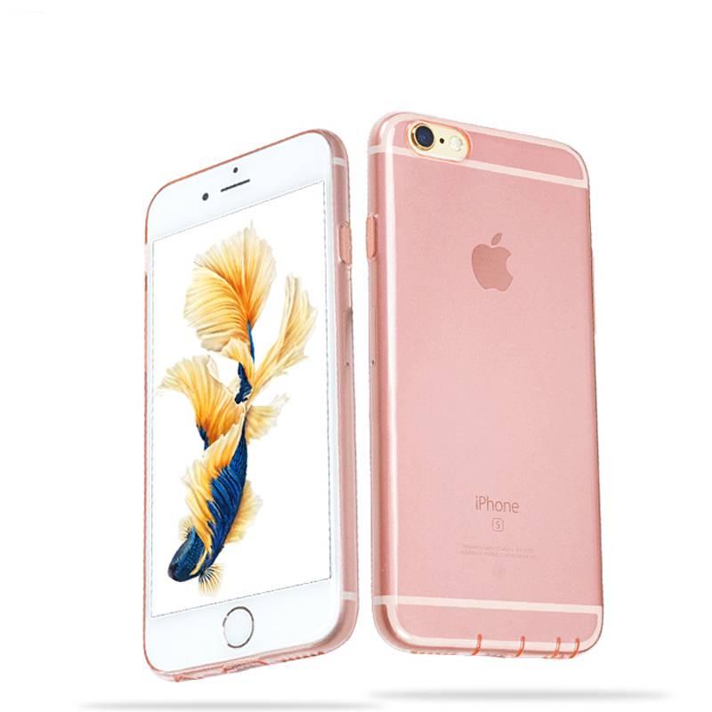 Rose Gold Ultra Slim TPU Phone Case for iPhone6s 5.5inch