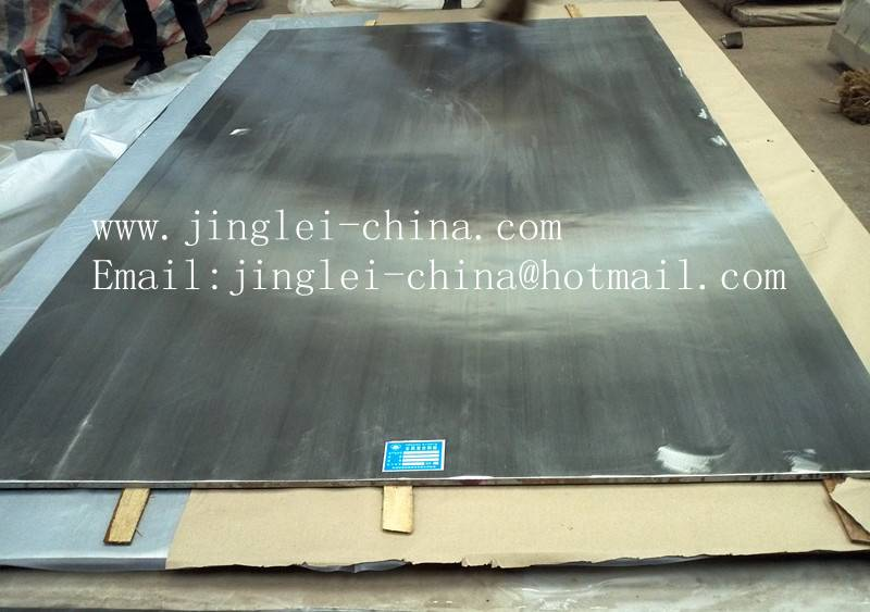 clad steel plate for pressure vessel