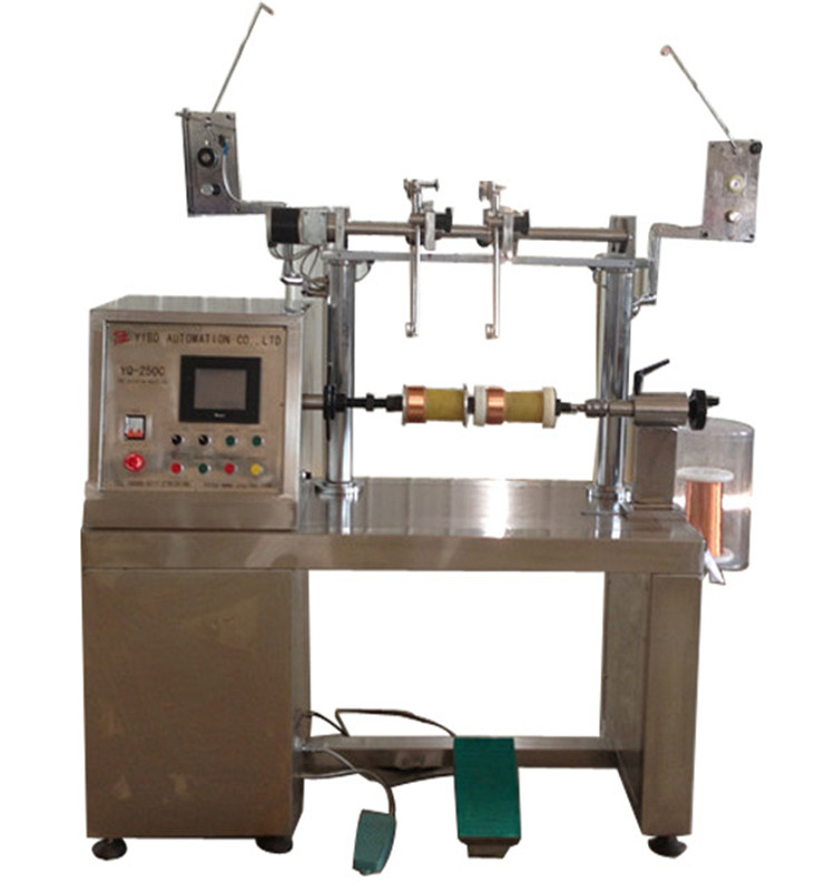 YQ250CM Wide Speed Selection Range Parallel Electric PT Coil Winding Machine