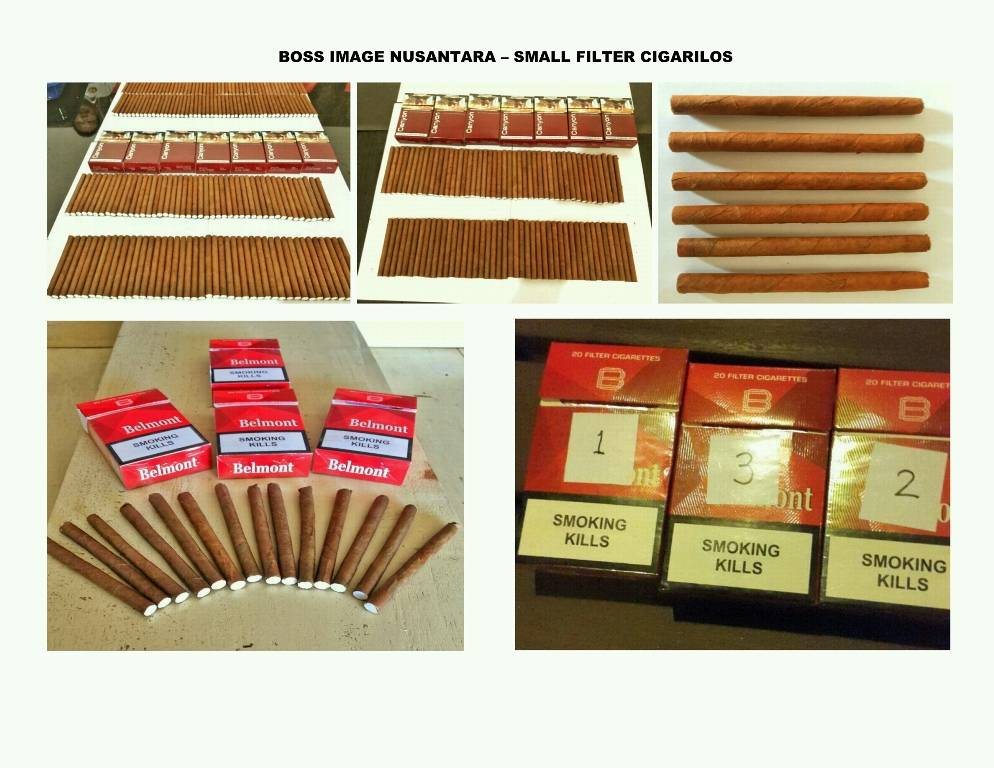 "SMALL FILTER CIGAR ""CIGARILOS"""