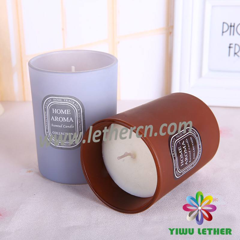 Hot Sale Luxury Scented Glass Jar Candles Paraffin Wax Scented Candles