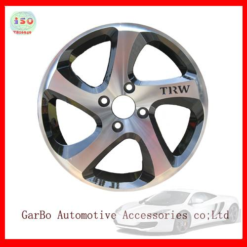 alloy wheel rims of sport style made in chian whith cheap price15inch 4x100