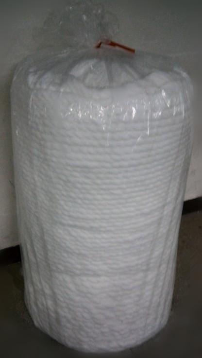 Absorbent cotton sliver