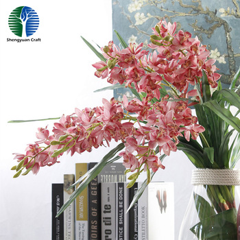 Silk Flower Artifiical Cymbidium
