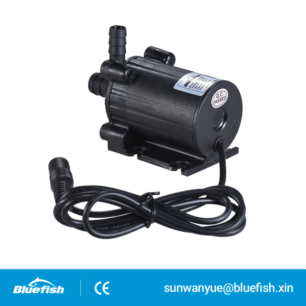 DC 12V Automatic Rockery Fountain Centrifugal Brushless Motor Water Pumps Flow 450L/H